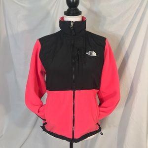 The North Face Hot Pink/Black Denali 2 Jacket